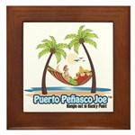 Cool Mexican T-Shirts Framed Tile