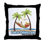 Cool Mexican T-Shirts Throw Pillow