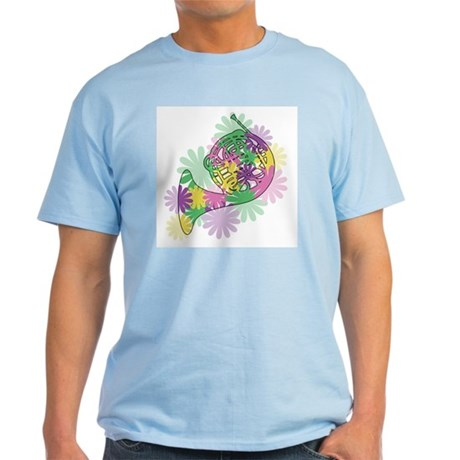 Flower Power Horn Light T-Shirt