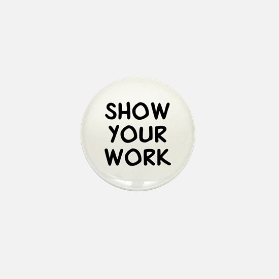 Show Work Mini Button