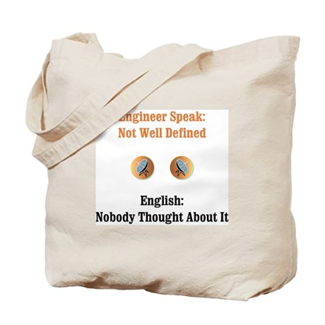 Not Well Defined Tote Bag