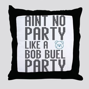 Aint No Party Throw Pillow