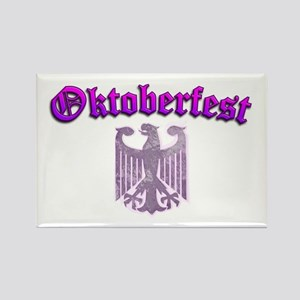 Oktoberfest German Deutsch W Rectangle Magnet