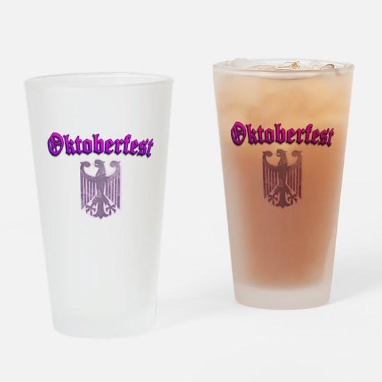Oktoberfest German Deutsch W Drinking Glass