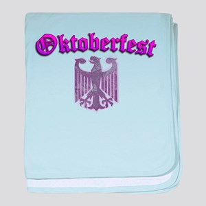 Oktoberfest German Deutsch W baby blanket