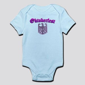 Oktoberfest German Deutsch W Infant Bodysuit