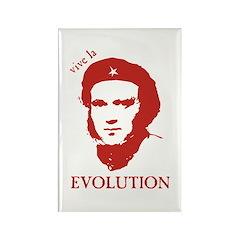 Viva Darwin Evolution! Rectangle Magnet