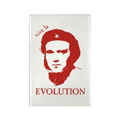 Viva Darwin Evolution! Rectangle Magnet (100 pack)