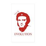 Viva Darwin Evolution! Sticker (Rectangle 10 pk)