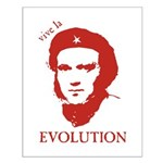 Viva Darwin Evolution! Small Poster
