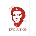 Viva Darwin Evolution! Large Poster