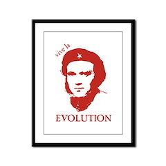 Viva Darwin Evolution! Framed Panel Print