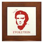 Viva Darwin Evolution! Framed Tile