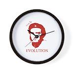 Viva Darwin Evolution! Wall Clock