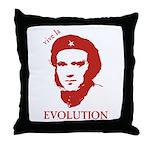 Viva Darwin Evolution! Throw Pillow