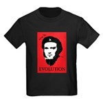 Viva Darwin Evolution! Kids Dark T-Shirt