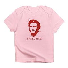 Viva Darwin Evolution! Infant T-Shirt