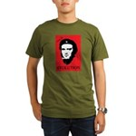 Viva Darwin Evolution! Organic Men's T-Shirt (dark