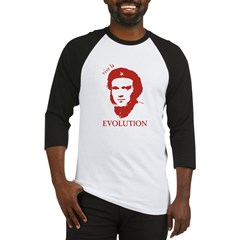 Viva Darwin Evolution! Baseball Jersey