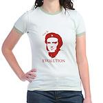 Viva Darwin Evolution! Jr. Ringer T-Shirt