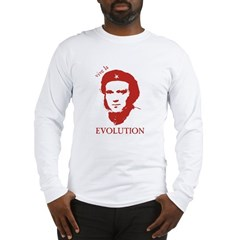 Viva Darwin Evolution! Long Sleeve T-Shirt