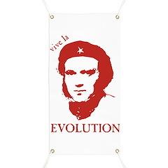 Viva Darwin Evolution! Banner