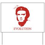Viva Darwin Evolution! Yard Sign