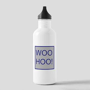Woo-Hoo Blue Stainless Water Bottle 1.0L