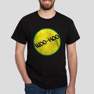 Woo-Hoo Yellow Dark T-Shirt
