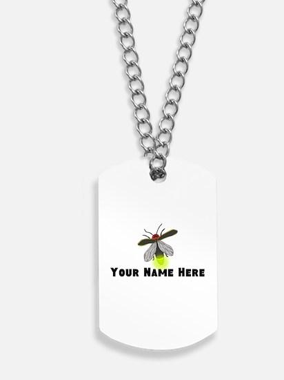 Lightning Bug Fun Dog Tags