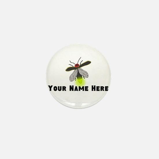 Lightning Bug Fun Mini Button