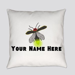 Lightning Bug Fun Everyday Pillow