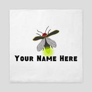 Lightning Bug Fun Queen Duvet
