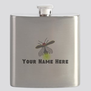 Lightning Bug Fun Flask
