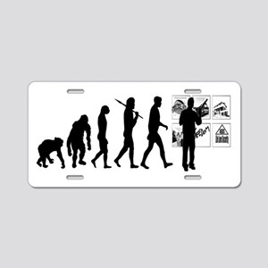 Advertising Evolution Aluminum License Plate