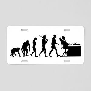 CEO Boss Evolution Aluminum License Plate