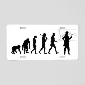 Economist Evolution Aluminum License Plate