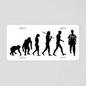 Doctors Evolution Aluminum License Plate