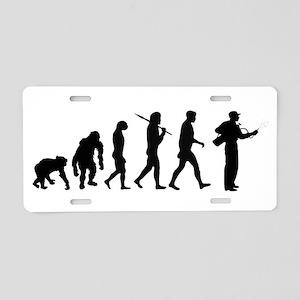 Exterminator Evolution Aluminum License Plate