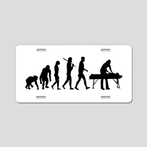 Physiotherpist Aluminum License Plate