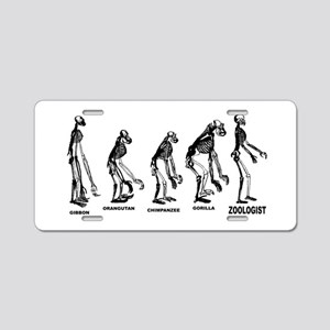Zoologist Zoology Aluminum License Plate