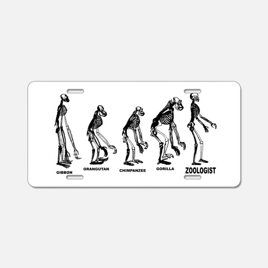Zoologist Zoology Aluminum License Plate