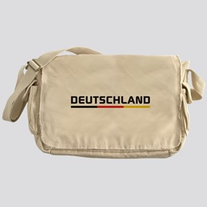 Soccer DEUTSCHLAND Stripe Messenger Bag