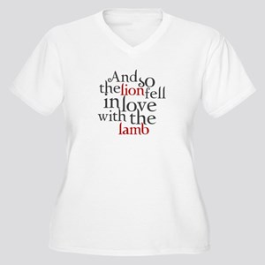 Lion fell in love with the lamb Women's Plus Size
