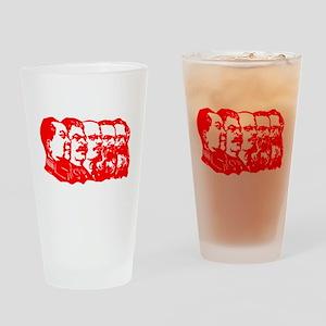 Mao,Stalin,Lenin,Engels,Marx Drinking Glass