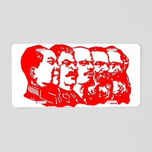 Mao,Stalin,Lenin,Engels,Marx Aluminum License Plat