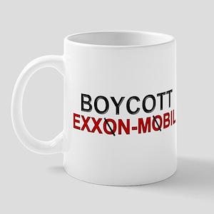 """""""Boycott Exxon Mobile"""" Mug"""
