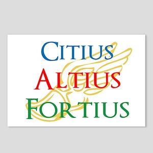 Citius Altius Fortius Postcards (Package of 8)