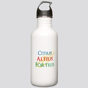 Citius Altius Fortius Stainless Water Bottle 1.0L