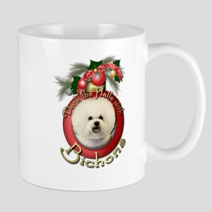 Christmas - Deck the Halls - Bichons Mug